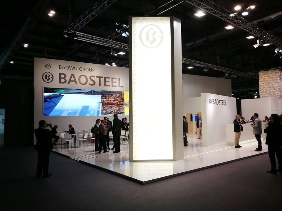 Baosteel – Stand Multimediale