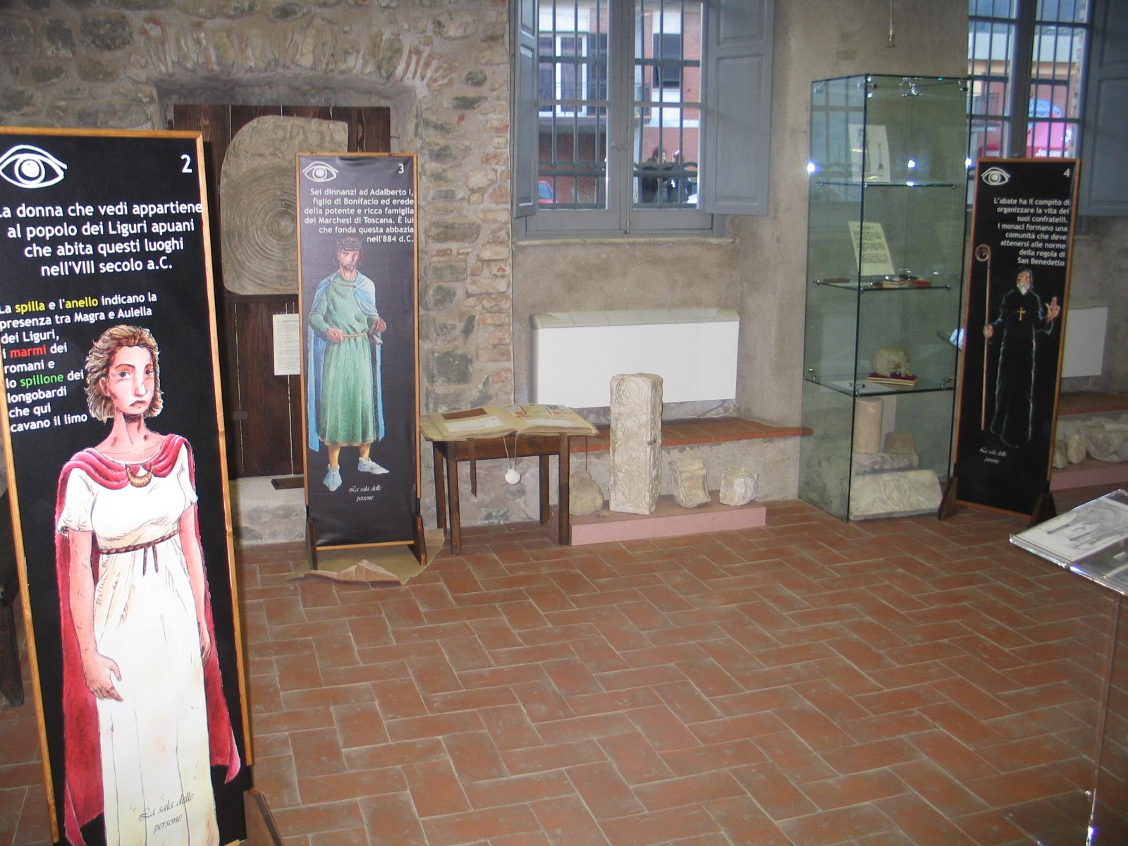 Museo di San Caprasio, Aulla